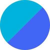 Karibik Blau/Marine